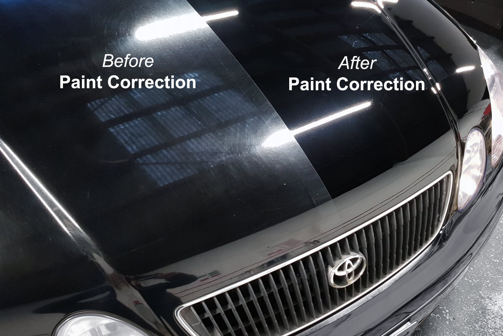 paint correction example